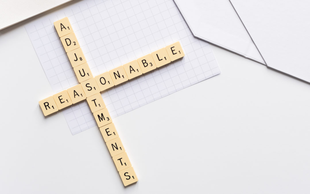 Reasonable Adjustments – The Full Picture